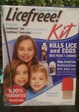Licefreee Kit kill lice and eggs (HOMEOPATHIC) NO COMB