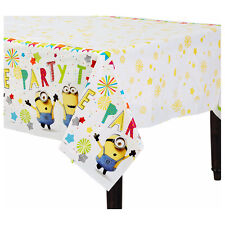 Despicable Me 3 MINIONS Plastic Table Cover Birthday Party Decoration Supplies