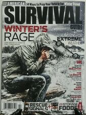 American Survival Guide Feb 2016 Winter's Rage Storage Foods FREE SHIPPING sb