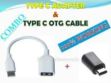 *TYPE C OTG CABLE AND TYPE C ADAPTER FOR HTC 10 *