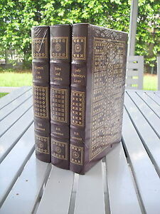 D. H. LAWRENCE 80TH ANNIVERSAY 3 VOL EASTON PRESS LEATHER NEW IN ORIGINAL WRAPS