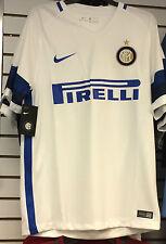 2016-17 Team Inter Milan  Soccer Home Jersey Short Sleeves Small Serie A League