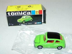 TOMICA BLACK BOX No.21 Green FUJI SUBARU 360 1/50 DIECAST CAR TOMY NEW In Box