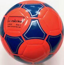 Lionstrike Lightweight Size 3 Football, Orange - for children kids aged 3-7yrs