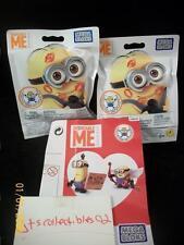 Mega Bloks Minions Valentine I'm w Cupid Series Sealed Pack With BOB w Wings