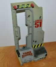 """TOMB RAIDER ACTION FIGURE DISPLAY BASE STAND AREA 51 11"""" TALL"""