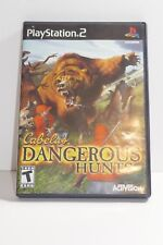 Cabela's Dangerous Hunts (Sony PlayStation 2, 2003) COMPLETE