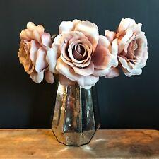 Mercury Glass Silver Flower Vase Vintage Wedding Decoration by Gisela Graham