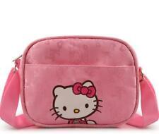 1x Hello Kitty Girl's Mini Crossbody Bag Oxford Cloth Children School Travel Bag