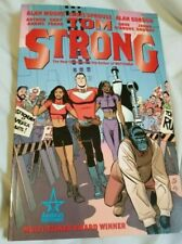 Selection of Tom Strong paperbacks comics
