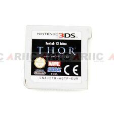 10Pcs Nintendo 3Ds Ds Game The Thor God Of Thunder Sega 2011 Euro