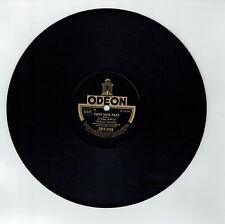 78T Marcel MERKES Disque Phonographe LA FETE A BILBAO Chanté ODEON 282055 RARE
