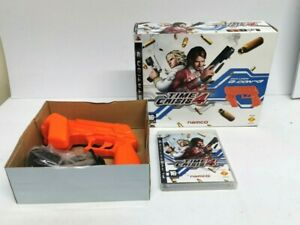 NAMCO Boxed Time Crisis 4 & G-Con 3 Gun Sony Playstation 3 PS3 Game FREE P&P