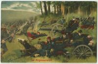 Soldiers Battle In The Argonne Forest Patriotic German WW1 Postcard (104)
