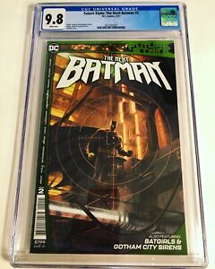 CGC 9.8 Future State: The Next Batman #2 White Pages