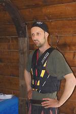 Weste Kanu Mesle  XS 3 Gurt Vario gebraucht Kayak Canadier top Verleihweste