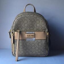 Calvin Klein women's  Jordan Leather Trim Backpack