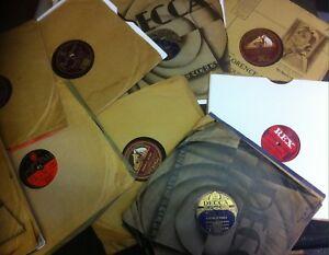 Nice Lote De 21 British Dance Band 78s - Jack Payne , Hylton, Geraldo, Roy Etc