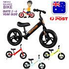 Balance Bike For Kids 2-6 Year Toddlers Toy Bicycle Walking Training Girls Boys