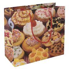 4 Bolsas De Regalo-grande, mediana, pequeña y Botella-Cup Cakes De Diseño