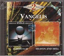 VANGELIS albedo 0.39 + heaven and hell CD ALBUM 2cd back2back serie NEUF NEW NEU