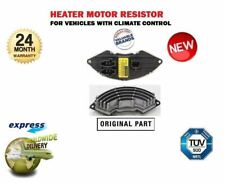 FOR CORSA D 2006->NEW HEATER MOTOR RESISTOR CLIMATE CONTROL MODELS A.430.009.00