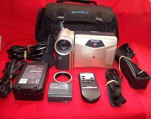 Sharp VL-A10U Video 8 Camcorder Player - Ambico Bag - Remote- Tape - Manuals