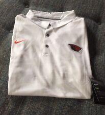 Nwt Nike Drifit Oregon State Beavers  Polo Big&Tall Size 4XL Baseball White A6
