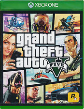 Grand Theft Auto V GTA 5 Xbox One Game English Portuguese Spanish French German