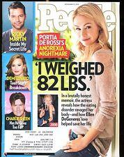 People Magazine November 15 2010 Portia De Rossi EX w/ML 021517jhe