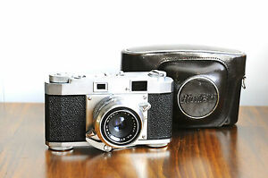 RICOH 35 S  35mm Leica Style Rangefinder Camera  -Trigger Advance  Made in Jap@@