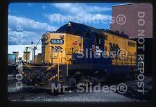 Original Slide ONR Ontario Northland Chop Nose GP9m 1604 North Bay ON 1986