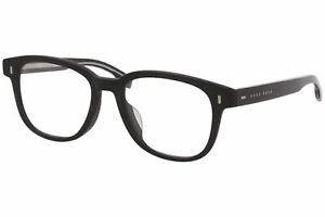 Hugo Boss 0954/F 003 Eyeglasses Men's Matte Black Full Rim Optical Frame 51mm