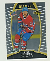 2019-20 Upper Deck Allure #86 RYAN POEHLING RC Rookie Montreal Canadiens