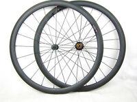 1275g weight 38mm carbon clincher road cycle wheel 700C aero spoke 6 pawls hub