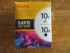 KODAK 10B black & 10c COLOR ink = ESP 3250 5200 5210 5250 7200 7250 9200 printer