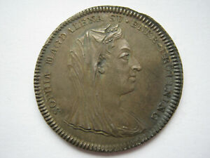 Sweden 1813 silver 1/3 Riksdaler largesse Queen Sophia funeral