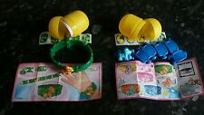 Kinder Surprise toys. 2 My Little Pony bracelets in capsules