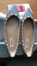 valentino Rockstud Ballerina Light Grey EU 38