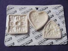 Sheild Heart Square resin Fondant push mold
