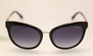 Tom Ford Emma FT0461 TF461 05W Black  / Blue Gradient Sunglasses (#650)