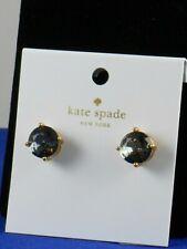 Kate Spade Black Round Gumdrop Studded Earrings S1a