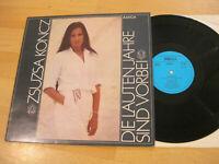 LP Zsuzsa Koncz Die lauten Jahre sind vorbei Vinyl Amiga DDR 8 55 975
