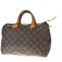 Auth LOUIS VUITTON Speedy 30 Travel Hand Bag Monogram Leather M41526 31MF161