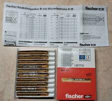 Fischer 10x Mörtelpatrone RM12 Reaktionsanker Dübel Reaktions Patrone 14 OVP