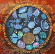 South Australian Opal Triplets Seconds Parcel  111cts   12 13 07 21