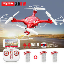 SYMA X5UW WIFI FPV RC Quadcopter Drone with HD Selfie Camera 2.4Ghz Hovering UAV