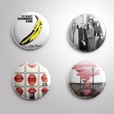 4 Velvet Underground - Pinbacks Badge Button 25mm 1''