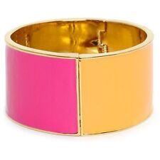 Kate Spade Au Contraire Bracelet NWT Wonderful Pink & Orange Split MOdern Chic!