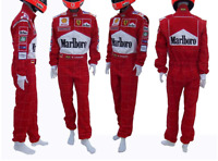 F1 Michael Schumacher 2001 Printed go kart race suit,In All Sizes